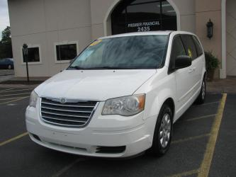 2009 CHRYSLER TOWN  COUNTRY VAN